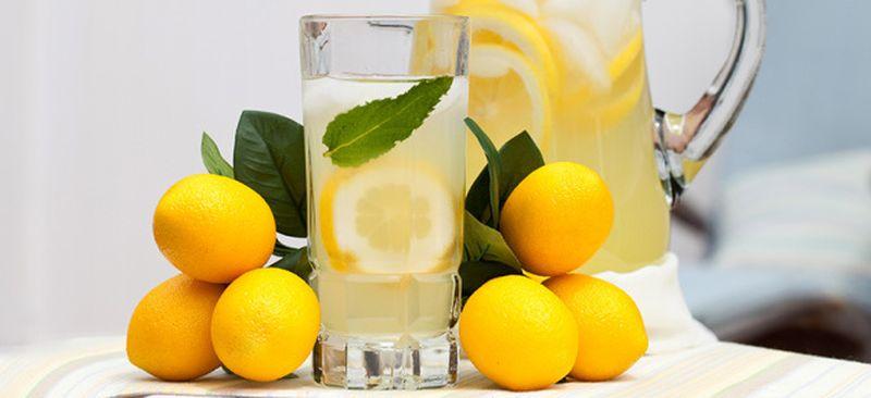 Eau citronée 1