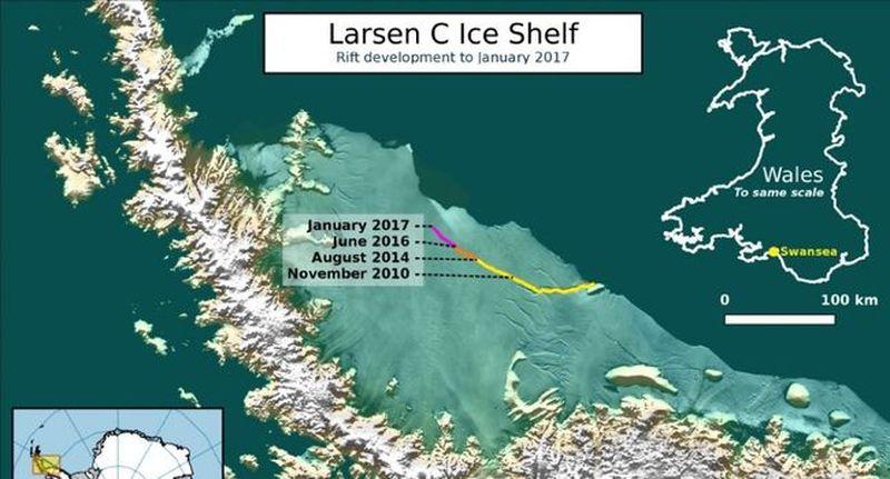 Iceberg - Larsen C 2