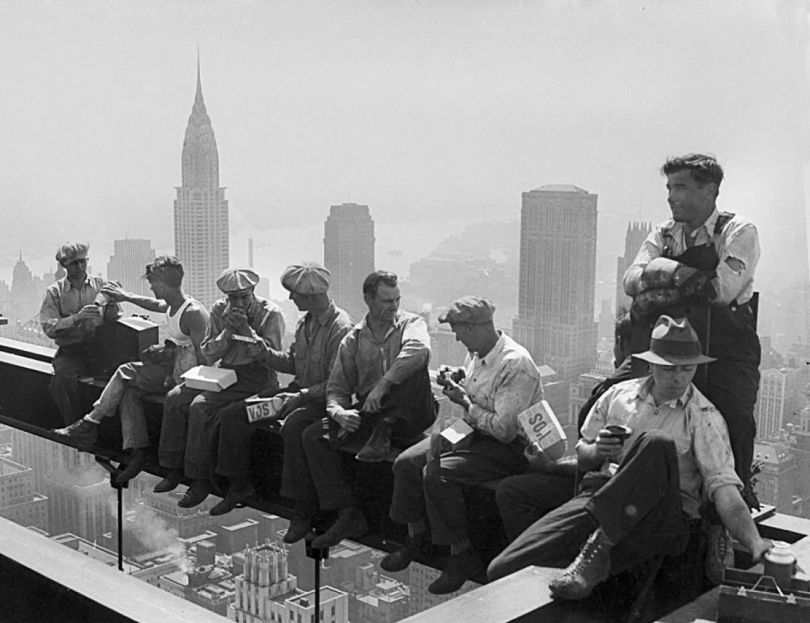 Lunch atop a Skyscraper 2