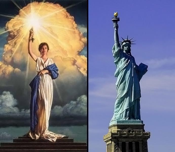 Statue liberté & Columbia