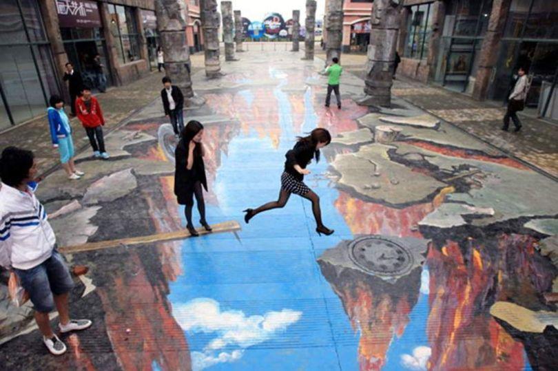 3D Street Art Paintings 1