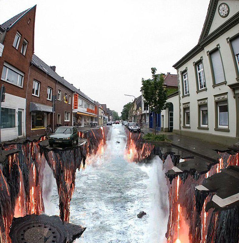 3D Street Art Paintings 2