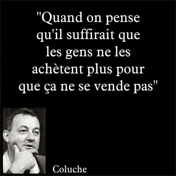 Coluche - Achat, Vente