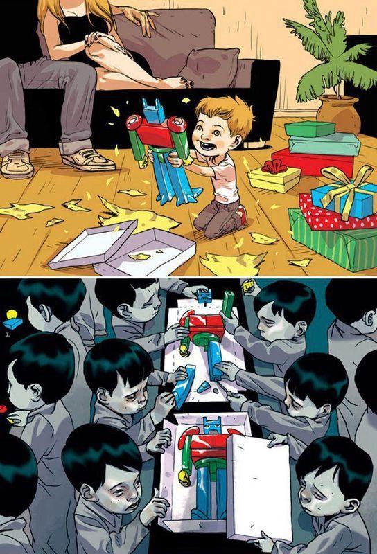 Enfants travaillent Chine
