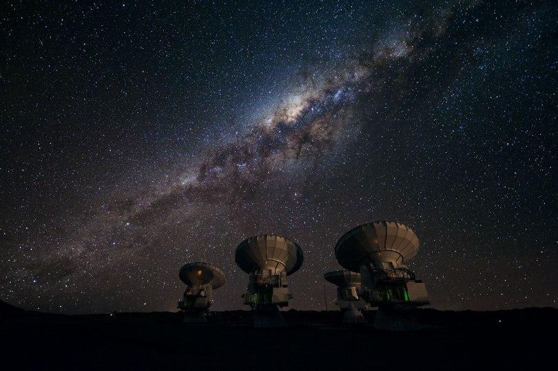 Observatoires astronomiques - Désert d'Atacama