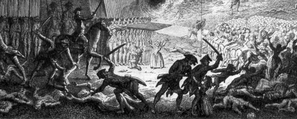 Révolution française - Colonnes infernales