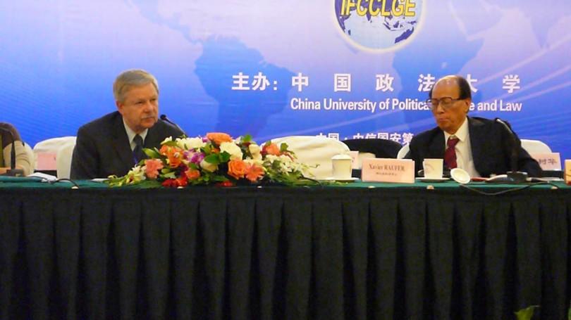 Xavier Raufer en Chine