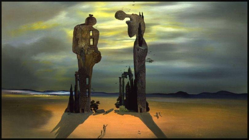Angelus de Millet - Salvador Dalí - 1 - Copie