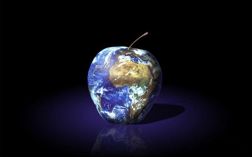 Apple - Earth - Terre - Pomme