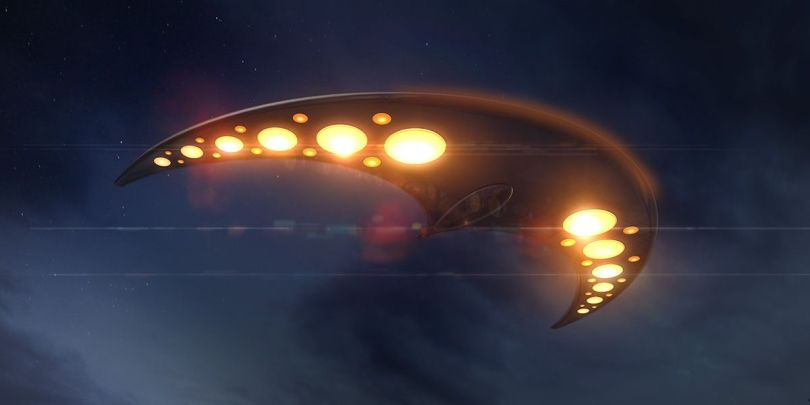 Boomerang - UFO - OVNI - Hudson River - USA - 1
