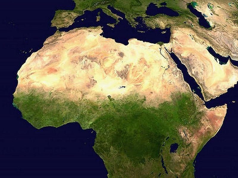 Désert - Sahara - Afrique