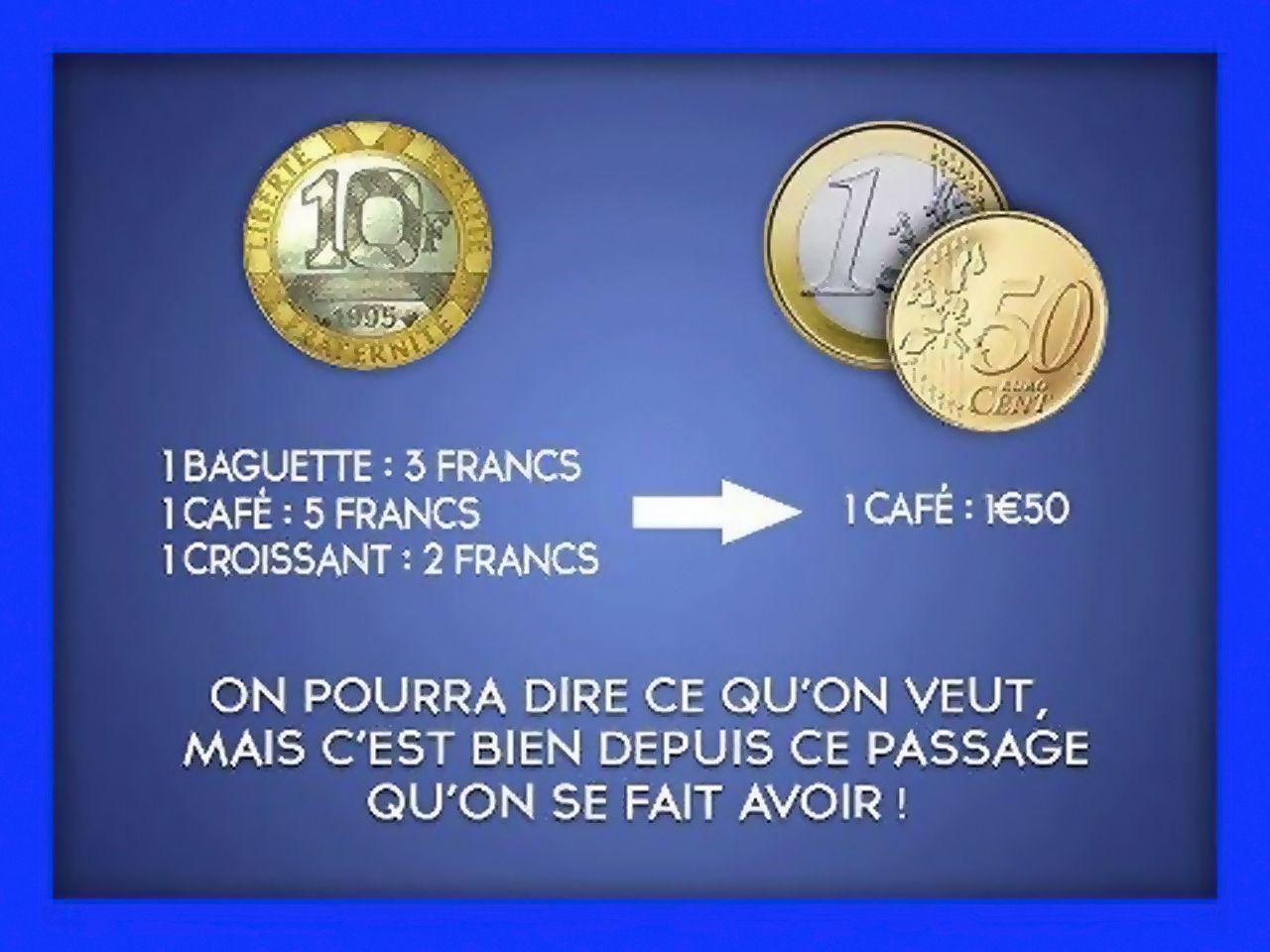 Franc à l'Euro (2013)