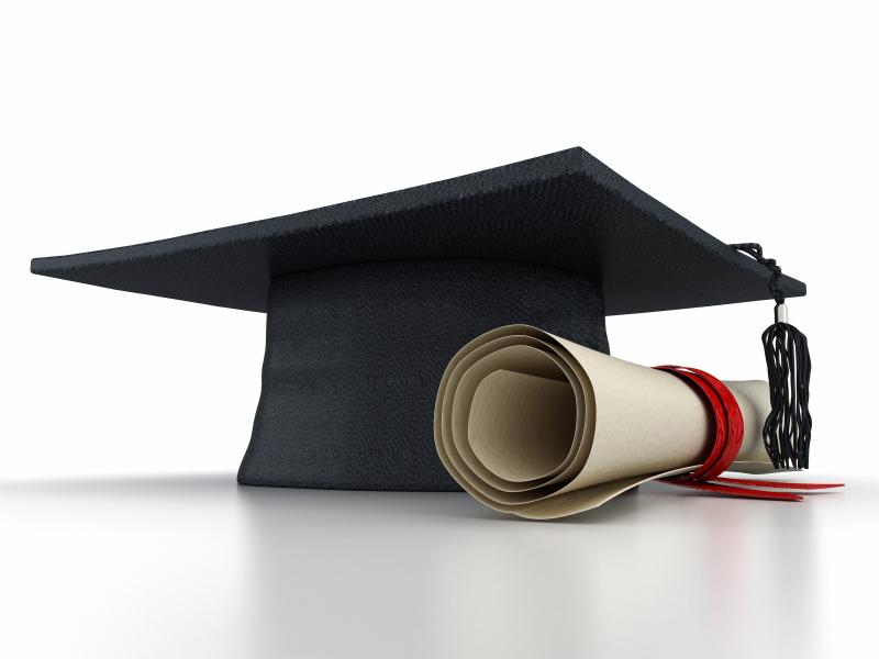 Hat Graduation ceremony