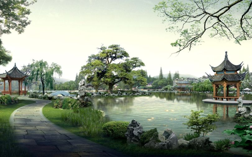 Japanese Garden - Jardin japonais - 1