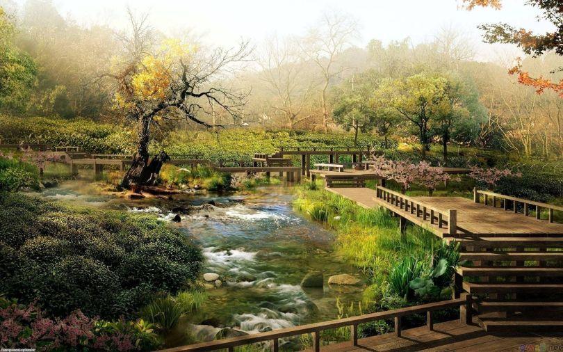 Japanese Garden - Jardin japonais - 3