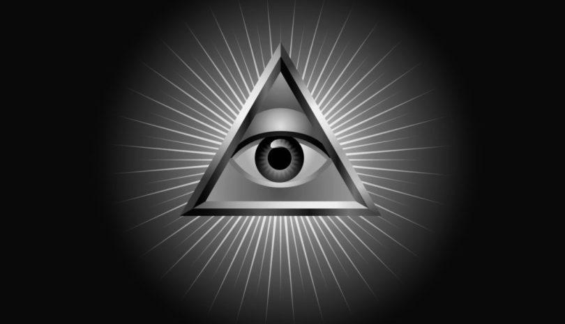 Logo - Illuminati - Pyramide - Œil