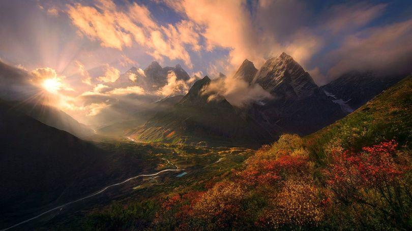 Montagne - Himalayas - Tibet