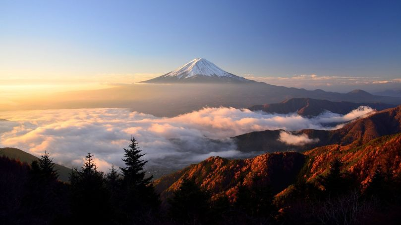 Mount Fuji Japan - Mont Fuji Japon