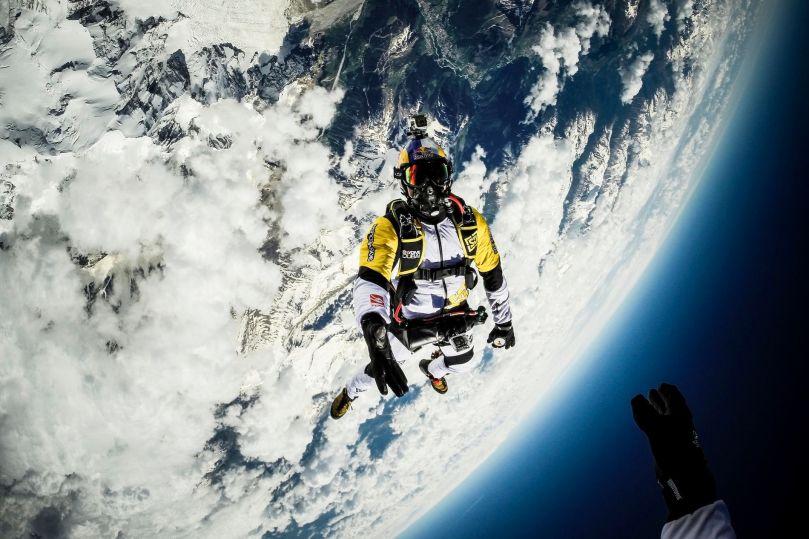 Skydive - Mont Blanc - 2014 - 1
