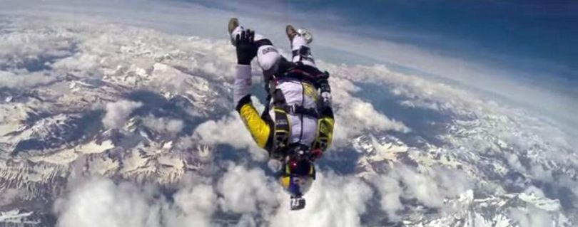 Skydive - Mont Blanc - 2014 - 2
