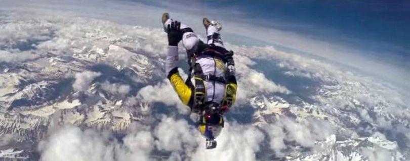 Skydive - Mont Blanc - 2014 - 2