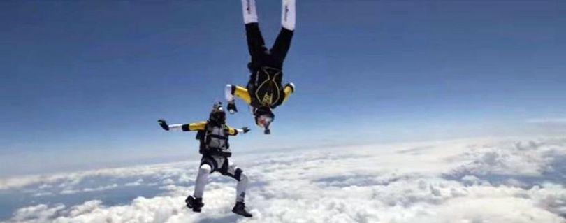Skydive - Mont Blanc - 2014 - 4