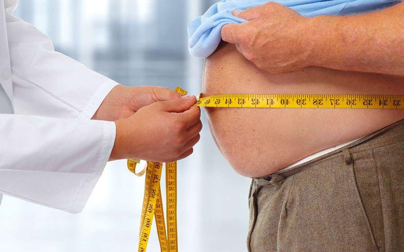 Taille ventre obèse