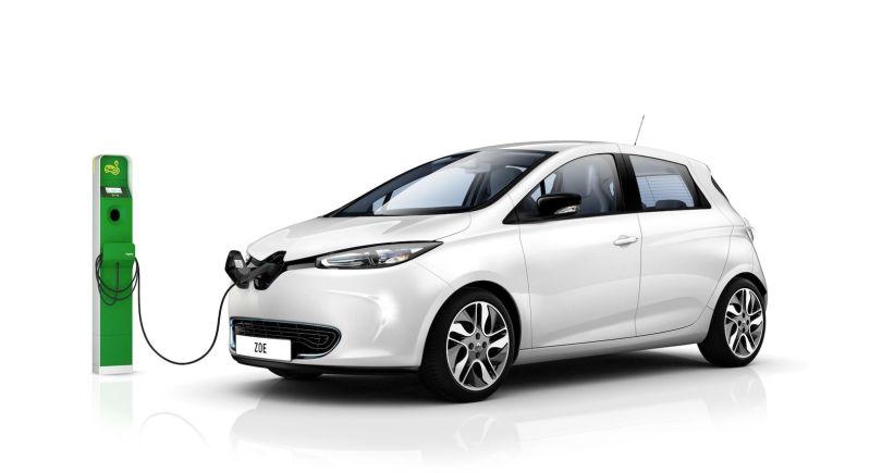 Voiture - Car - Renault Zoe