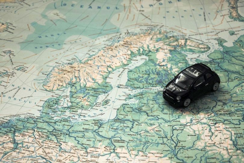 Voiture map