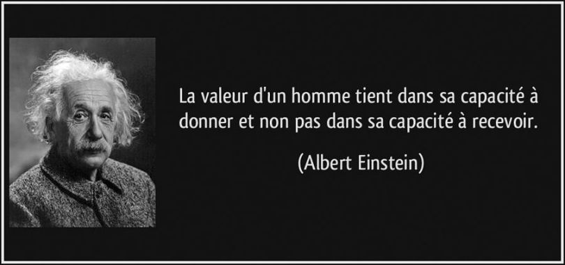 Albert Einstein - Citation