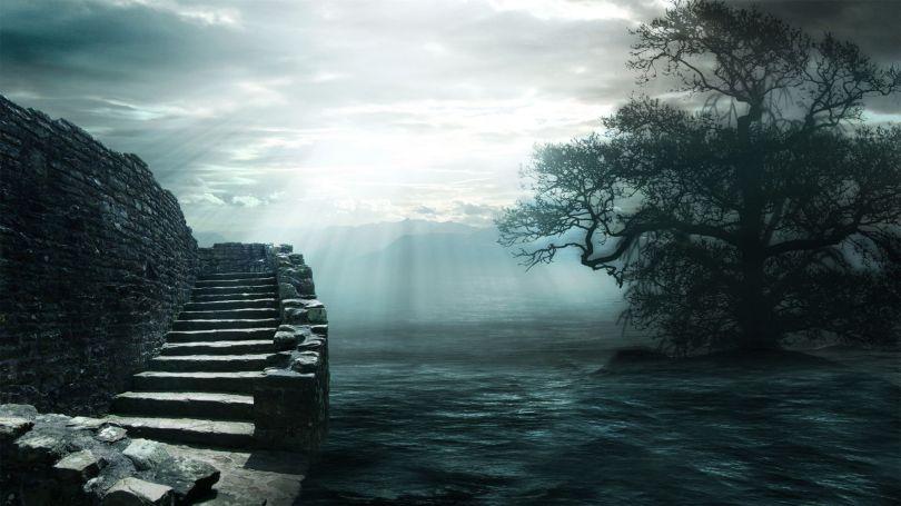 Escaliers - Surréalistes - 133