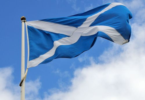 Flag of Scotland - Drapeau Ecosse