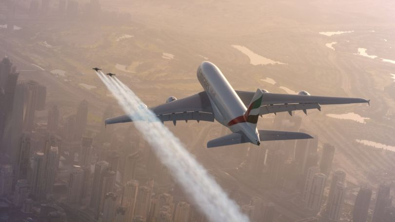 Jetman - Emirates A380