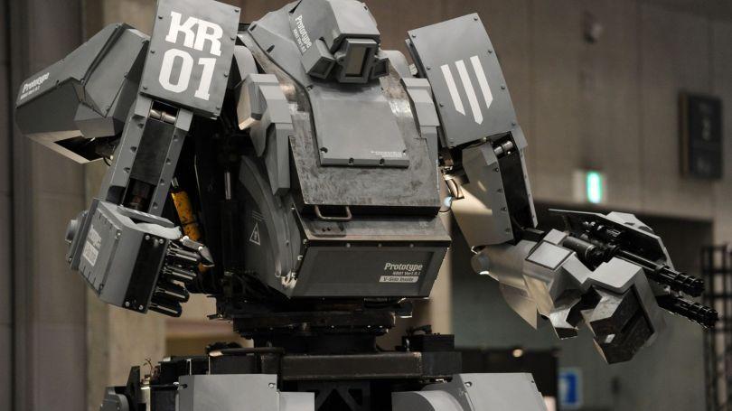 Robot Mecha Kuratas - 1