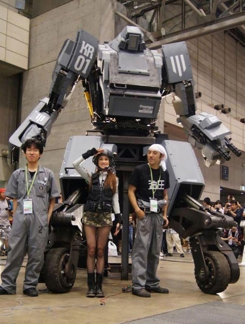 Robot Mecha Kuratas - 3