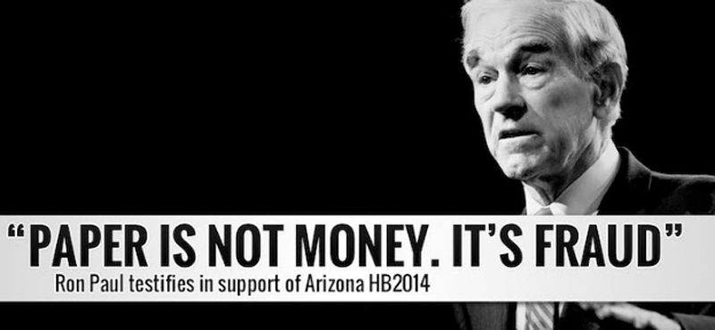Ron Paul - FED - Arizona - HB 2014
