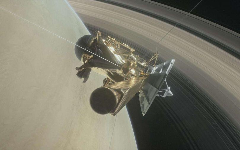 Sonde Cassini - Saturne - 2
