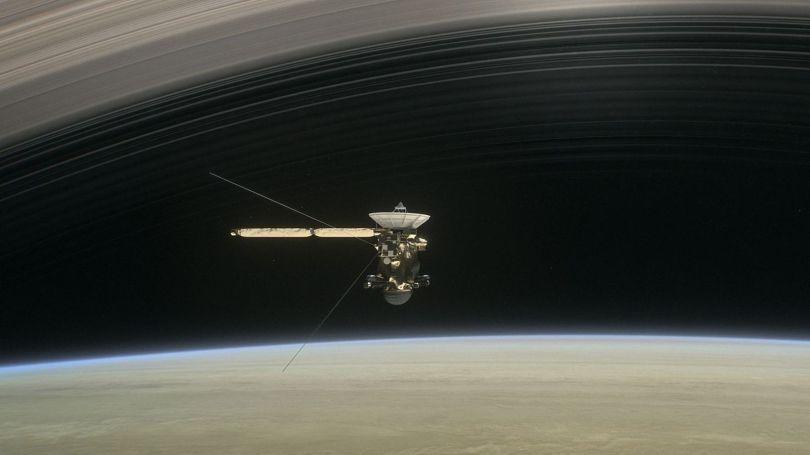 Sonde Cassini - Saturne - 3