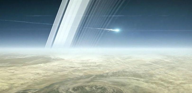 Sonde Cassini - Saturne - 5