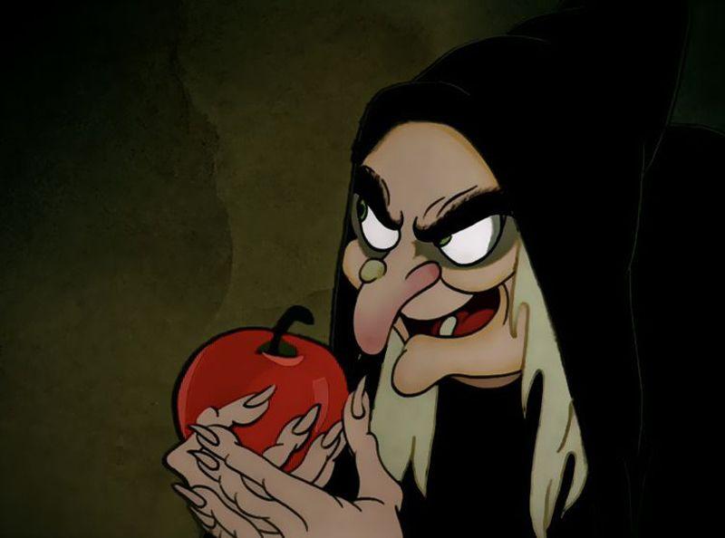 Sorcière - Pomme