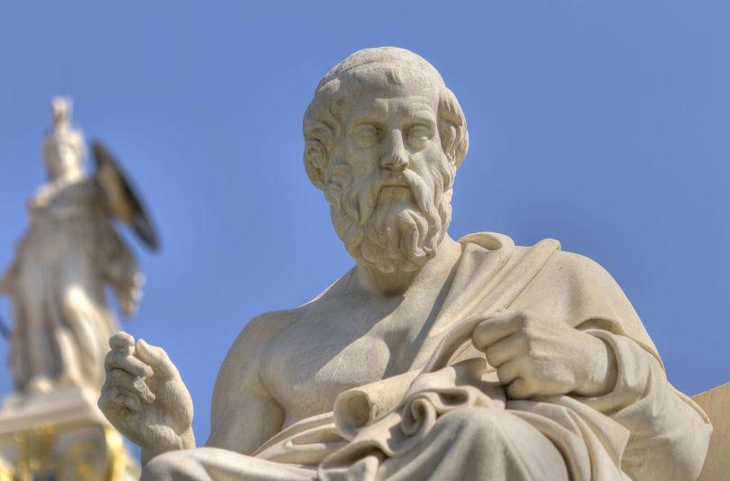 Statue Platon