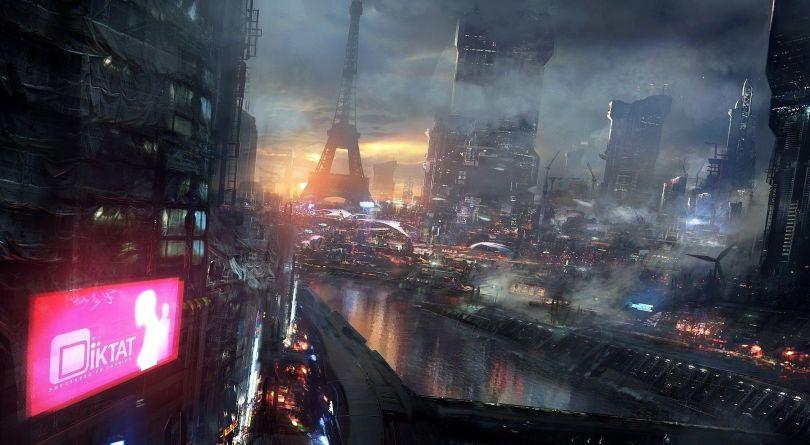 Surréaliste - Futuriste - Ville - 815