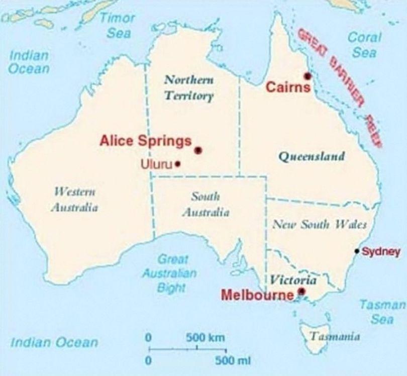 Carte Geologique Australie.Australie Alice Springs Uluru Ayers Rock Videos Aphadolie