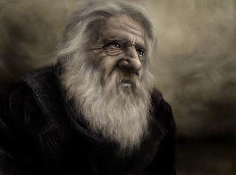 Viel homme - Old man