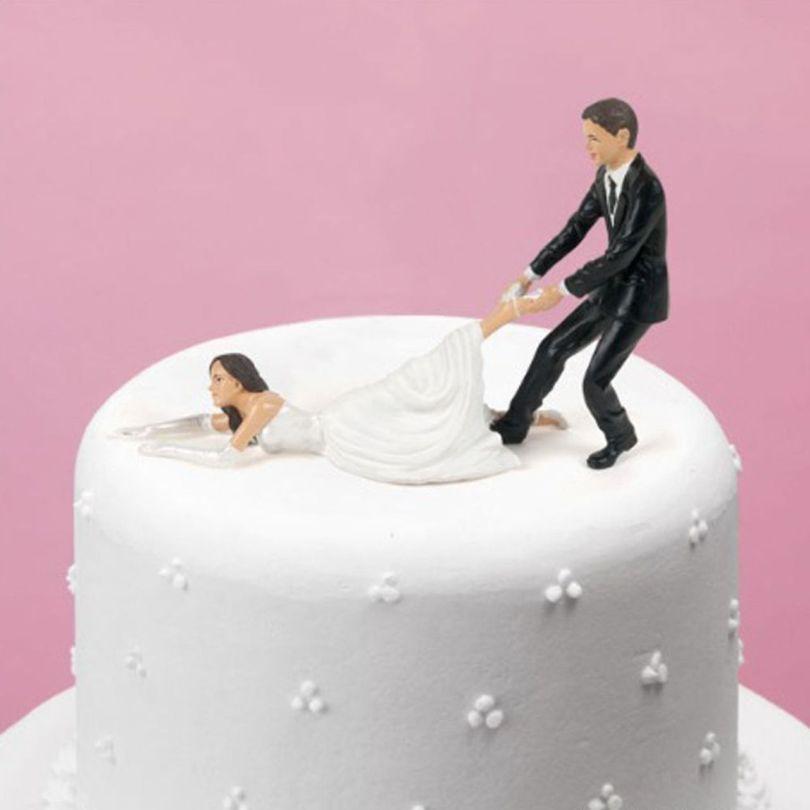 Gâteau de mariage - Mariés - 1