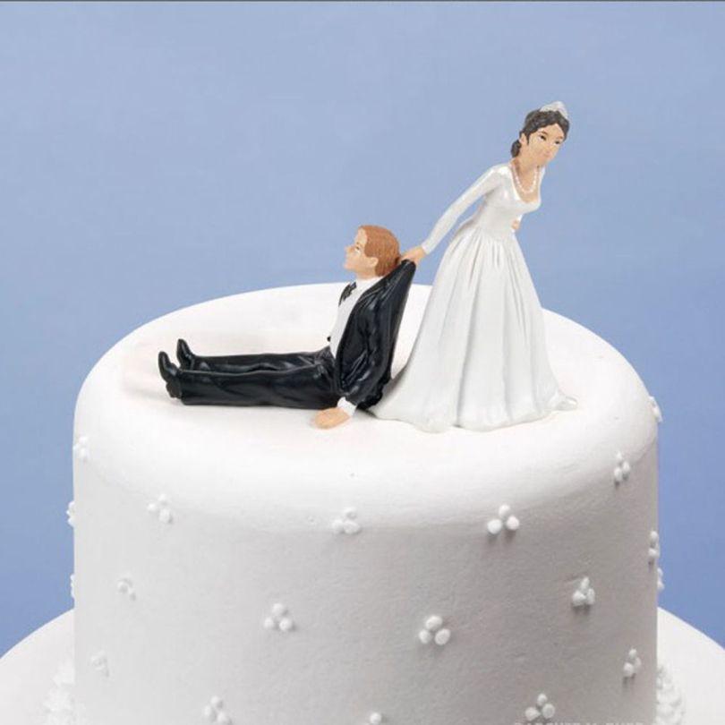Gâteau de mariage - Mariés - 2