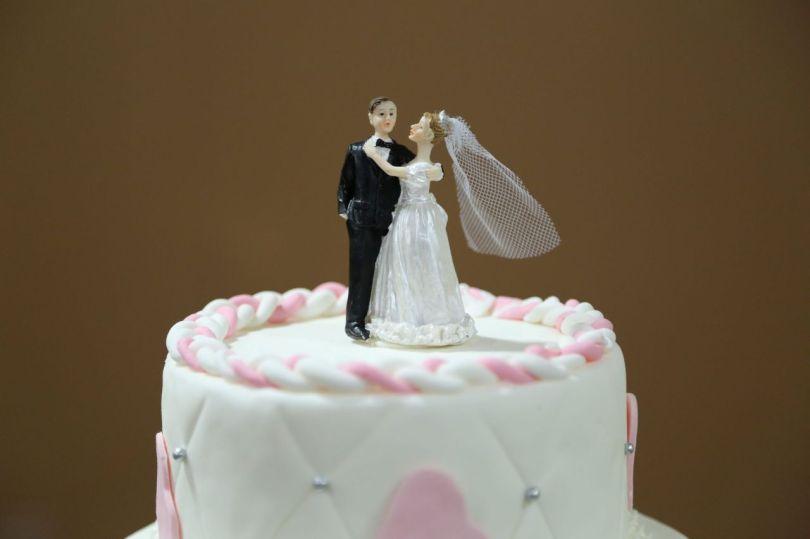 Gâteau de mariage - Mariés - 3