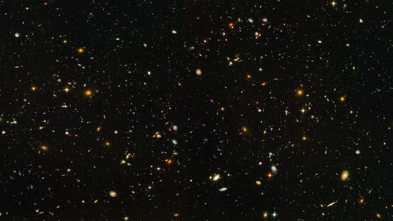 Hubble ultra deep field high resolution
