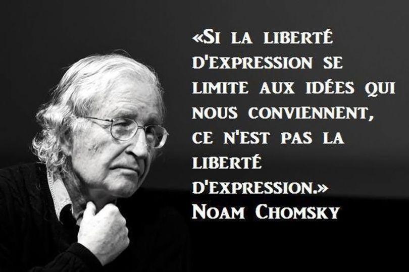 Noam Chomsky - Liberté d_expression