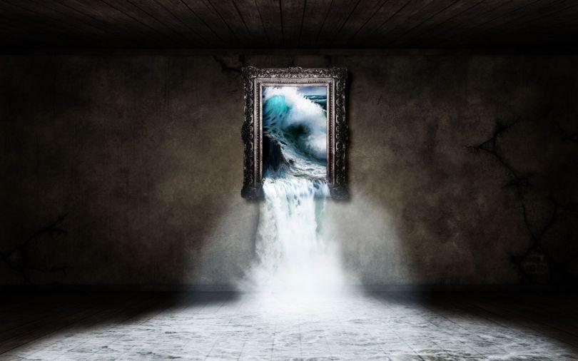 Tableau - Eau - Surréalisme - Wallpaper - 38